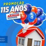 WWW.ANIVERSARIOARAUJO.COM.BR, PROMOÇÃO ANIVERSÁRIO DROGARIA ARAUJO 115 ANOS
