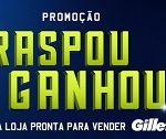 WWW.RASPOUGILLETTE.COM, PROMOÇÃO RASPOU GANHOU GILLETTE