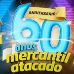 WWW.MERCANTILRODRIGUES.COM.BR/ANIVERSARIO, PROMOÇÃO ANIVERSÁRIO 60 ANOS MERCANTIL RODRIGUES