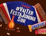 WWW.VAITERFESTAJUNINASIM.COM.BR, PROMOÇÃO VAI TER FESTA JUNINA SIM SNICKERS