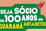 WWW.GUARANAANTARCTICA.COM.BR/100ANOS, SÓCIO 100 ANOS GUARANÁ ANTARCTICA
